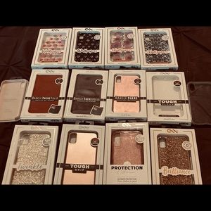 14 IPhone X Max Cases All $250 or $20 Each